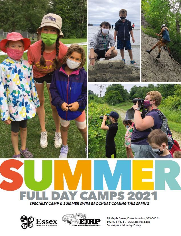 Summer Day Camps 2021 Cover Opens in new window